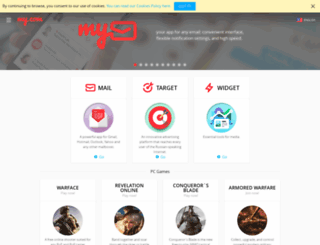 my.com screenshot