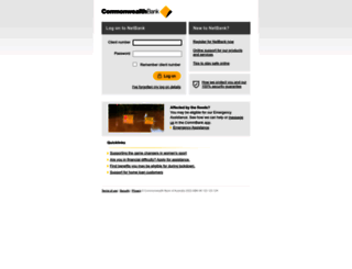my.commbank.com.au screenshot