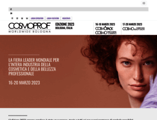 my.cosmoprof.com screenshot