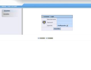 my.customercall.net screenshot
