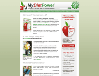 my.dietpower.com screenshot