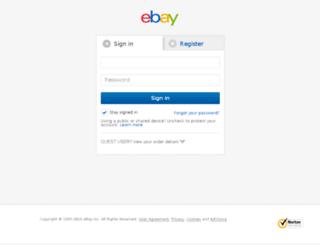 my.ebay.com screenshot