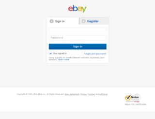 my.ebay.ie screenshot