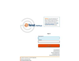 my.etenet.com screenshot