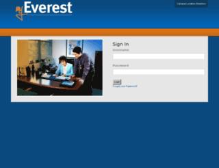 my.everest.edu screenshot