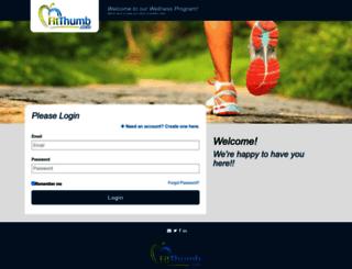 my.fitthumb.com screenshot
