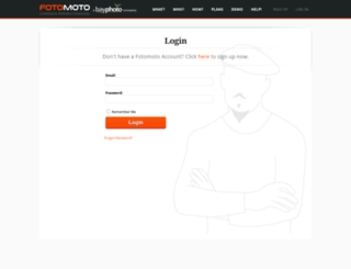 my.fotomoto.com screenshot