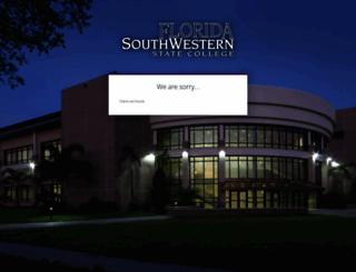 my.fsw.edu screenshot