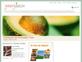 my.gardenguides.com screenshot