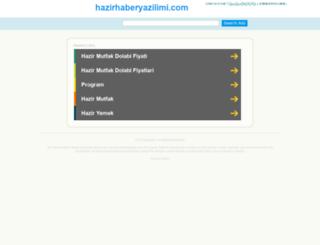my.hazirhaberyazilimi.com screenshot