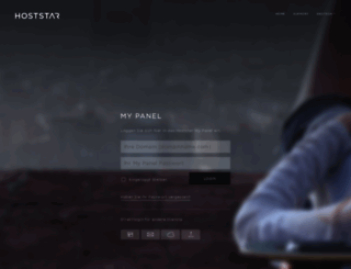 my.hoststar.ch screenshot