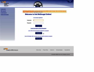 my.hrw.com screenshot