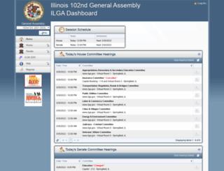 my.ilga.gov screenshot