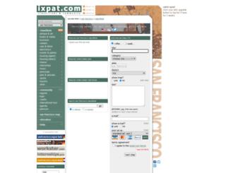 my.ixpat.com screenshot