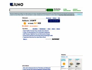 my.juno.com screenshot