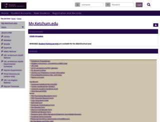 my.ketchum.edu screenshot