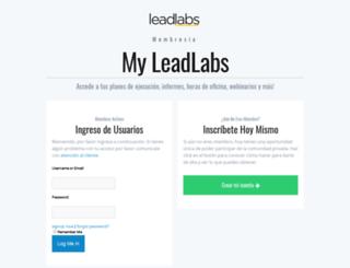 my.leadlabs.me screenshot