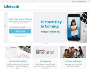my.lifetouch.com screenshot
