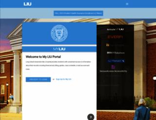 my.liu.edu screenshot