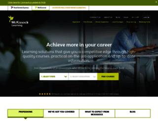 my.mckissock.com screenshot