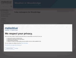 my.meteoblue.com screenshot
