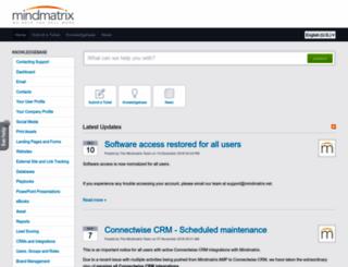 my.mindmatrix.net screenshot
