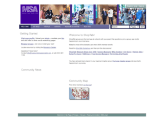 my.museumstoreassociation.org screenshot