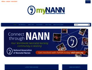 my.nann.org screenshot