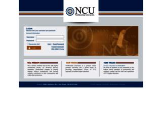 my.ncu.edu screenshot