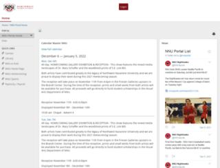 my.nnu.edu screenshot