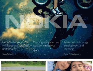 my.nokia.com screenshot