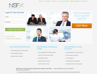 my.nsfxpartners.com screenshot