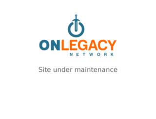 my.onlegacynetwork.com screenshot