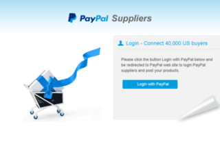 my.paypal-suppliers.com screenshot