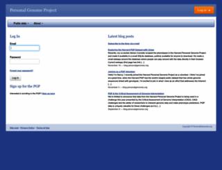 my.pgp-hms.org screenshot