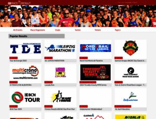 my.raceresult.com screenshot