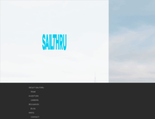 my.sailthru.com screenshot