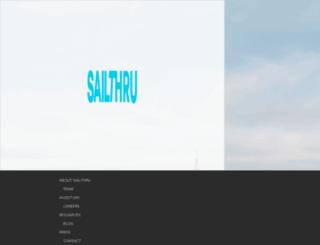 my.sailthru.com screenshot