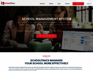 my.schooltracs.com screenshot