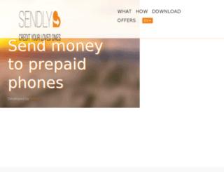 my.sendly.com screenshot