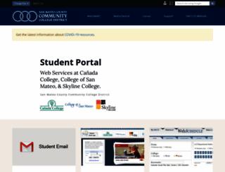 my.smccd.edu screenshot