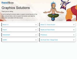 my.smithmicro.com screenshot