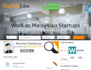 my.startupjobs.asia screenshot