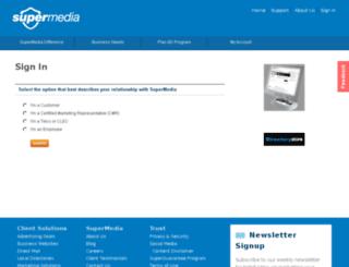 my.supermedia.com screenshot