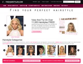 my.thehairstyler.com screenshot
