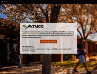 my.tmcc.edu screenshot