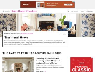 my.traditionalhome.com screenshot
