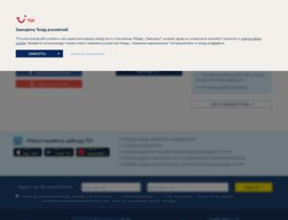 my.tui.pl screenshot