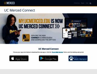 my.ucmerced.edu screenshot