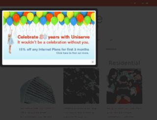 my.uniserve.com screenshot